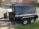 BUILDERS TRAILER 8X5 DELUXE TRAILER WITH REAR DOORS