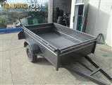 PHOENIX TRAILERS 7X4 BOX TRAILER - CAGE OPTIONS AVAILABLE - COLOR OPTIONS AVAILABLE