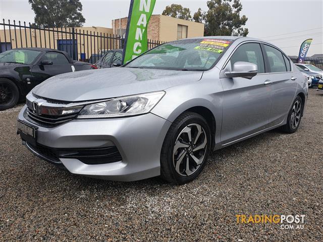 9Th Gen Accord >> 2016 Honda Accord 9th Gen Vti Sedan 4dr Spts Auto 5sp 2 4i Sedan