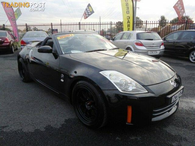 2006 nissan 350z roadster touring z33 my06 upgrade convertible for sale in penrith nsw 2006. Black Bedroom Furniture Sets. Home Design Ideas