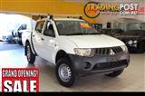2009 Mitsubishi Triton ML MY09 GLX Cab Chassis Double Cab 4dr Auto 4sp 4x4 1075kg 3.2DT ML MY09 Cab Chassis