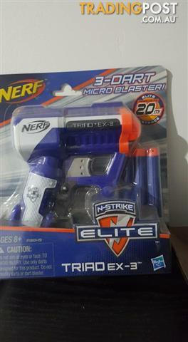 Brand new nerf gun (still in the box)