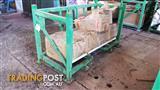 Stillage green Cage Pallet Storage Skid Skip Container firewood