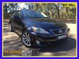 2006  LEXUS IS250 SPORTS LUXURY GSE20R 4D SEDAN
