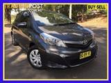 2012  Toyota Yaris YRS NCP131R Hatchback