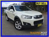 2012  HOLDEN CAPTIVA 7 CX (4X4) CG MY12 4D WAGON