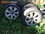 Ford Fairlaine Ghia 17 inch Mags