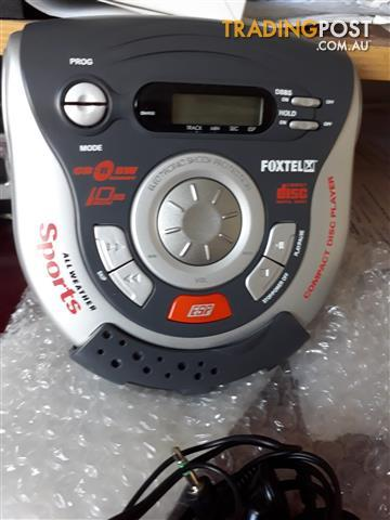 new compact cd.player portable