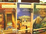 MINT. 3 x LOST CIVILISATION DOCUMENTARIES VHS Set - (NEW)