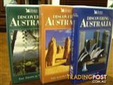 MINT. 3 x DISCOVERING AUSTRALIA VHS Set - (NEW)