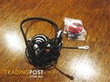 LOGITECH STEREO HEADPHONES + EXTRA BEZELS - (USED)