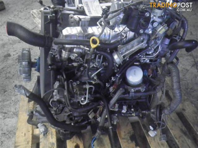 Ys L Boxed X on Toyota D4d Engine
