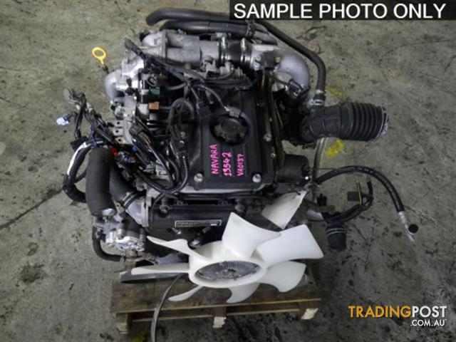 Nissan navara zd30 turbo engine for sale in archerfield for Engine motors for sale