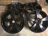 2 sets of wheels