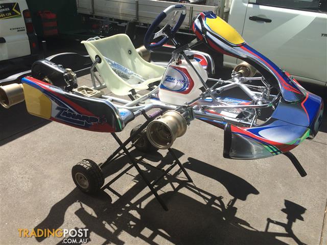 Zanardi kz2 rolling chassis