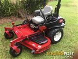 Toro zero mower