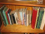 Lot of Australian books