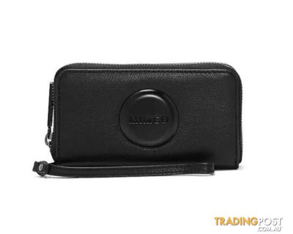 Mimco Mim Tech Purse Matte Black BNWT