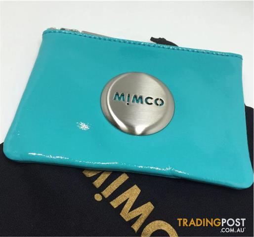 BNWT Mimco Medium Pouch / Keyring / Studs