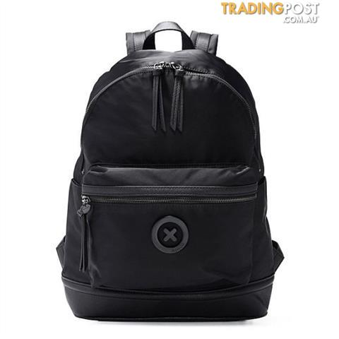 Mimco Splendiosa Black Matte Back Pack