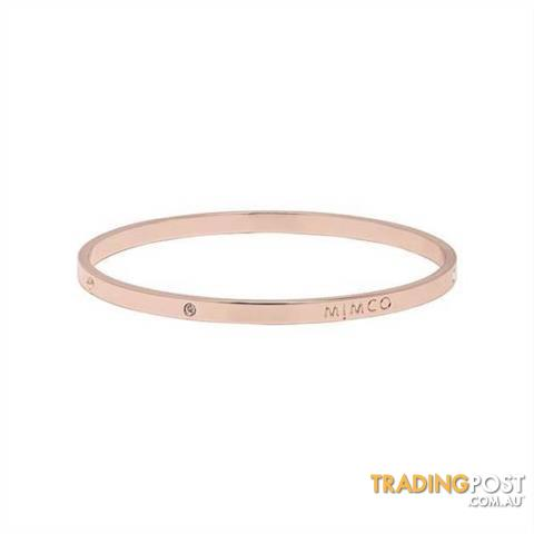 Mimco Neutrino Bangle Rose Gold BNWT & Dust Bag!