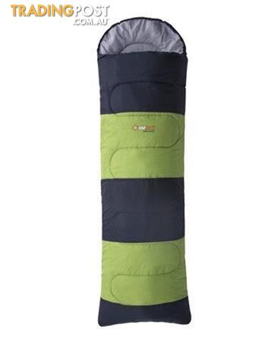 Oztrail Kennedy Hooded Sleeping Bag +10C