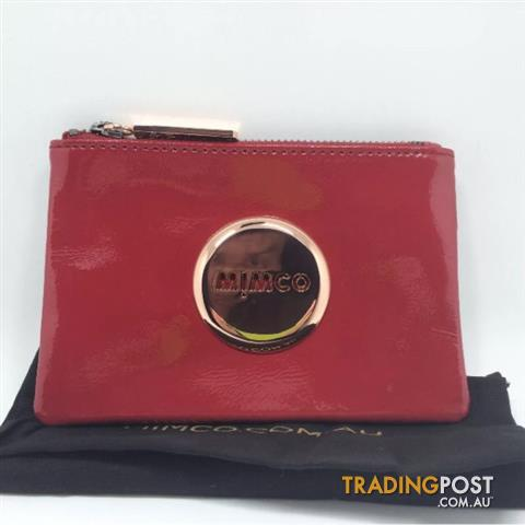 Mimco Mars Red MIM Pouch Small BNWT