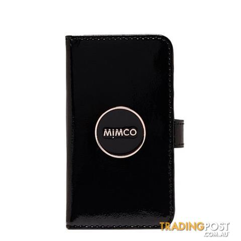 Mimco Iphone 7 or 7 Plus & 6 or 6 Plus Flip Cases Black BNWT