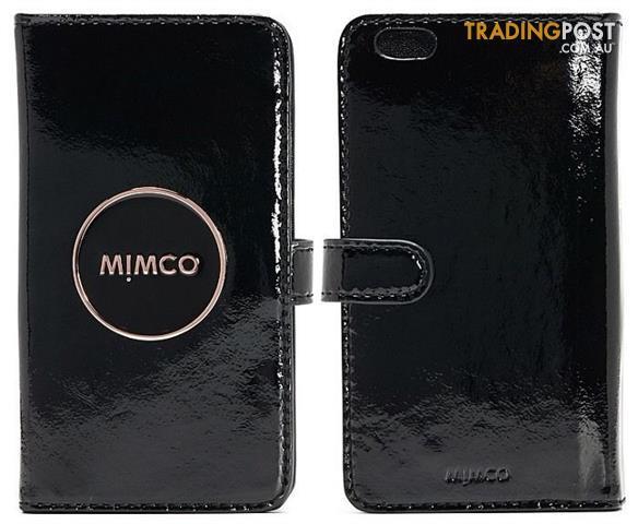 buy popular eb3cc 5b895 Mimco-Iphone-7-or-7-Plus-6-or-6-Plus-Flip-Cases-Black-BNWT