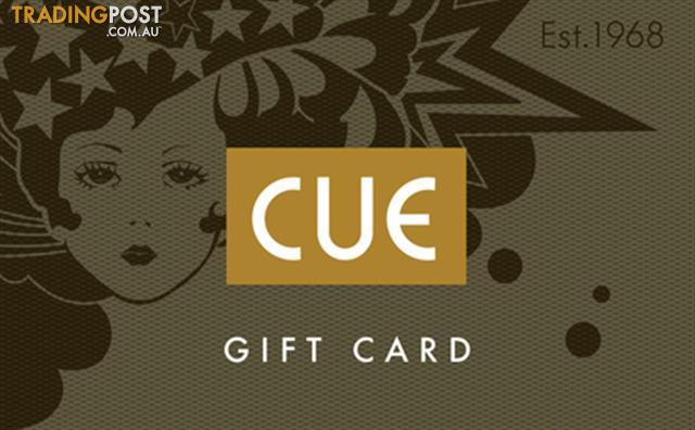 Cue Gift Card Value $259 - Expires April 2017