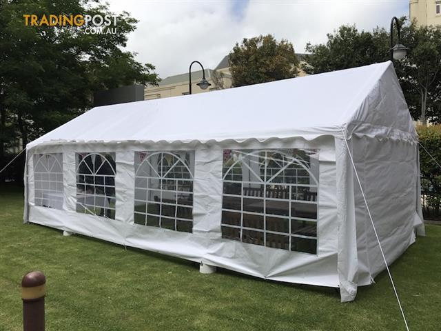 Commercial Grade Galvanised Frame Marquee/Party Tent 8x4m