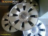 4 Audi Wheel rims