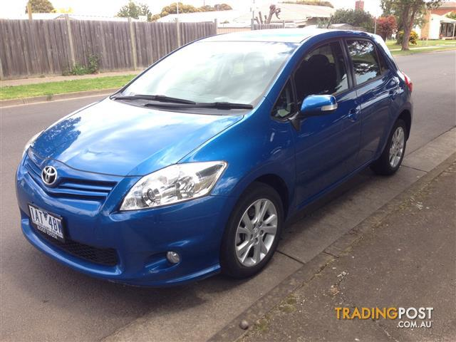 2012 (April) TOYOTA COROLLA ASCENT SPORT ZRE152R MY11 5D HATCHBACK