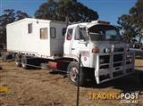 1976 NISSAN UD HORSE TRUCK PLUS ACCOMODATION