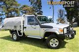 2013 Toyota Landcruiser GXL (4x4) VDJ79R MY12 Update Cab Chassis