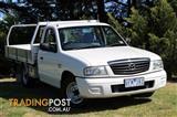 2006 Mazda B2500 Bravo DX MY05 Upgrade Cab Chassis
