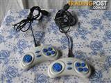 2 hand controllers