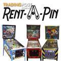 Rent-A-Pin - Pinball Machine Rental Melbourne