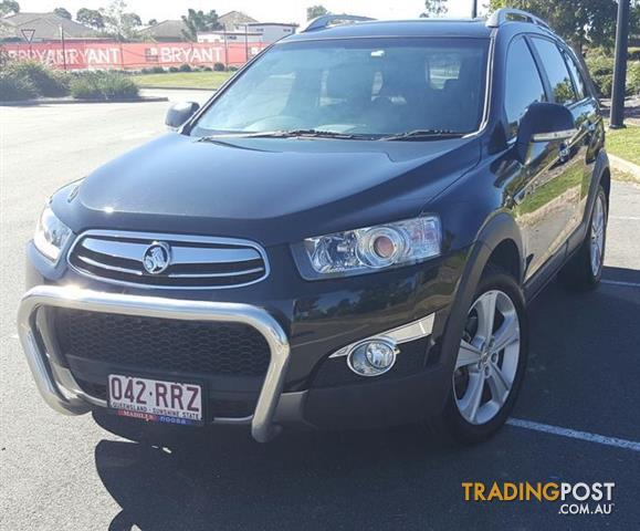 2011 HOLDEN CAPTIVA 7 LX (4x4) SERIES II  TURBO DIESEL