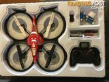 DRONE QUADCOPTER F182 INDOOR AND OUTDOOR DUAL SHIELD 2.4GHZ
