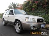 2003 SUBARU FORESTER XS MY04 4D WAGON