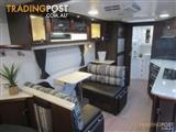 PARAMOUNT UTILITY ultimate touring caravan FULL EN SUITE