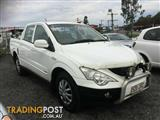 2007 Ssangyong Actyon  100 Series Wagon
