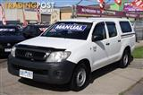 2009 TOYOTA HILUX WORKMATE TGN16R UTILITY