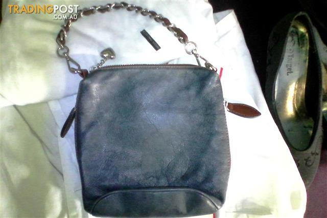 Italian made soft leather Hand bags and purse