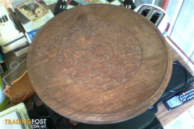 Indian Hand crafted little antique table