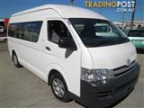 2011 TOYOTA HIACE COMMUTER TRH223R MY11 UPGRADE BUS