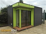 Small, Upmarket Transportable Sales Display Office
