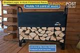 Fire wood kipper Rack with cover