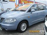 2005 SSANGYONG STAVIC LIMITED A100 WAGON